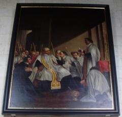 Eglise Saint-Jacques-le-Majeur et Saint-Jean-Baptiste - Français:   Folleville (Somme), église Saint-Jacques-le-Majeur et Saint-Jean-Baptiste, tableau 1