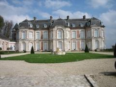 Château de Long - English: Castle of Long, dep. Somme, France
