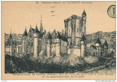 Château - Français:   Château de Lucheux