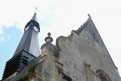 Eglise Saint-Pierre -  Mailly-Maillet (Somme, France) -   Le clocher de l'église.
