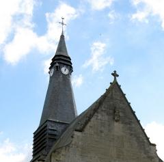 Eglise Saint-Pierre -  Mailly-Maillet (Somme, France) -   L'église.