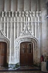 Chapelle du Saint-Esprit - Intérieur de la chapelle Saint-Esprit de Rue (Somme, France)