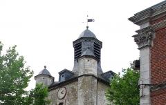Beffroi -  Saint-Riquier (Somme, France) - Le beffroi.   .