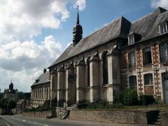 Beffroi -  Hôtel-Dieu, Saint-Riquier, Somme, Picardie, France