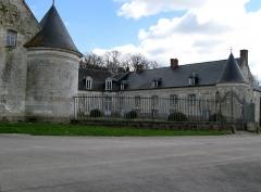 Château -  Vadencourt (Somme, France) -   Le château.