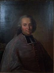 Evêché - Français:   Portrait de Gabriel de Cortois de Quincey, dernier évêque de Belley, conservé au palais épiscopal de Belley dans l\'Ain