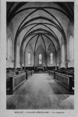 Petit Séminaire - Français:   Séminaire de Belley, chapelle.