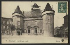 Château dit château de Montlaur - English: Châteaux Ardèche