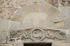 Eglise Saint-Pierre - Deutsch: Romanische Kirche Saint-Pierre in Champagne (Ardèche)