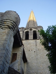 Eglise - English: Church of Chassiers (Ardèche, France)