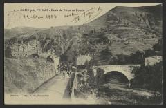 Pont sur l'Ouveze - English: Ponts and viaducs Ardèche