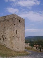 Château (ruines) - English: Ruins of the castle of Cruas (Ardèche, France)