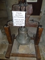 Eglise Saint-Pierre - Nederlands: Cloche des Pères de l'Oratoire (1669); Église Saint-Pierre de Joyeuse, France