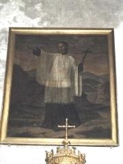 Eglise Saint-Pierre - Nederlands: Tableau de Saint-Régis (début 19e siècle); chapelle Saint-Régis, Église Saint-Pierre de Joyeuse, France