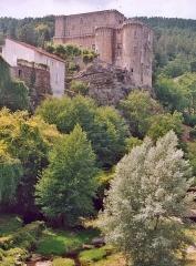 Château - English: The castle of Largentière, Ardèche, France.