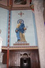 Eglise Notre-Dame-des-Pommiers - Français:   Détail de l\'intérieur de l\'église Notre-Dame-des-Pommiers XIIIe siècle de style gothique de Largentière en Ardèche