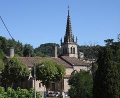 Eglise Notre-Dame-des-Pommiers - Français:   Eglise Notre-Dame-des-Pommiers XIIIe siècle de style gothique de Largentière en Ardèche
