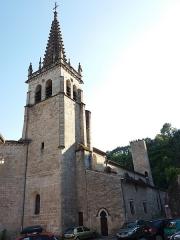 Eglise Notre-Dame-des-Pommiers - Français:   Clocher côté est.