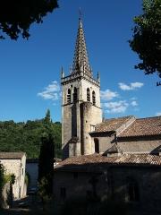 Eglise Notre-Dame-des-Pommiers - Français:   Clocher.