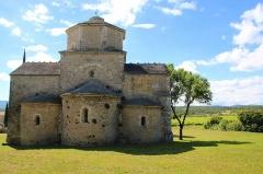 Eglise Saint-Pierre - English: Church, Saint-Pierre de Larnas (Ardèche)