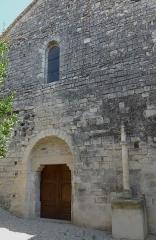 Eglise -  Meysse (Ardèche, France), église St Jean-Baptiste.