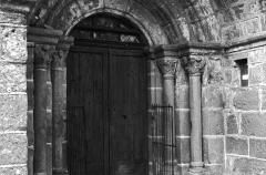 Eglise (à l'exception de la sacristie et du clocher) -  Le portail de l'église