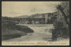 Pont d'Ouveze - English: Ponts and viaducs Ardèche