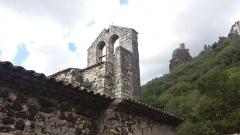 Chapelle Notre-Dame-des-Anges - Français:   Rochemaure - Chapelle Notre-Dame-des-Anges - clocher.