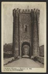 Pont de Rochemaure sur le Rhône - English:   Ponts and viaducs Ardèche