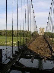 Pont de Rochemaure sur le Rhône -  Rochemaure le Pont