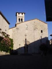 Eglise Saint-Pierre-aux-Liens - English: Church of Ruoms (Ardèche, France)