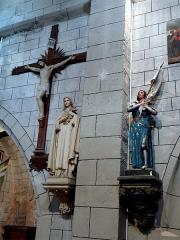 Eglise - Français:   Intérieur de l\'église Saint-Pierre-aux-Liens de Saint-André-Lachamp, Ardèche, France