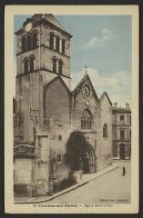 Eglise Saint-Julien - English: Châteaux Bâtiments religieux Ardèche