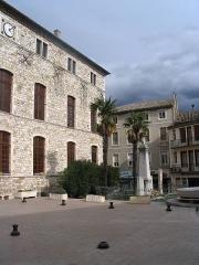 Ancien château -  Town Hall of Vallon-Pont-d'Arc, département Ardèche, France