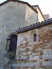 Eglise - English: Church of Vinezac (Ardèche, France)