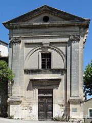 Chapelle des Dominicains, dite aussi chapelle Notre-Dame-du-Rhône - Français:   Viviers - Chapelle Notre-Dame-du-Rhône