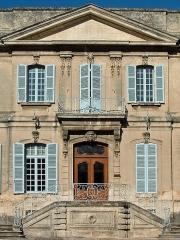 Hôtel de Roqueplane - Français:   Viviers - Hôtel de Roqueplane - Entrée de l\'hôtel