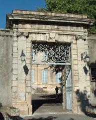 Hôtel de Roqueplane - Français:   Viviers - Hôtel de Roqueplane - Portail monumental