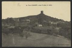 Site archéologique de la tour d'Albon, situé au hameau de La Tour - English: CA 1910