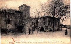 Abbaye cistercienne - Abbaye de Bouchet dans les années 1900
