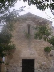 Eglise Saint-Pierre-ès-Liens, anciennement dite église Saint-Pierre de Margerie -  chapelle St Pierre de Colonzelle, érigée au XII ème siècle