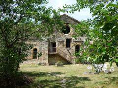 Abbaye cistercienne du Valcroissant - Deutsch: Kloster Valcroissant, ehem. Kirche von Osten