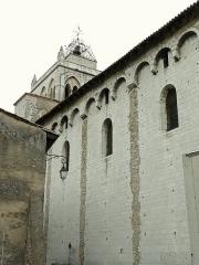 Ancienne cathédrale, actuellement Eglise Notre-Dame - Français:   Cathédrale Notre-Dame de Die - Elévation extérieure du mur sud de la nef