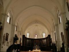 Ancienne cathédrale, actuellement Eglise Notre-Dame - Français:   Cathédrale Notre-Dame de Die - Nef