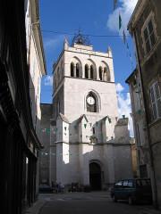 Ancienne cathédrale, actuellement Eglise Notre-Dame -  Die, Drôme , France