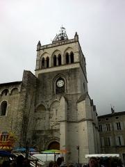Ancienne cathédrale, actuellement Eglise Notre-Dame -  Drome Die Cathedrale Notre-Dame Clocher Porche 05072014