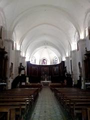 Ancienne cathédrale, actuellement Eglise Notre-Dame -  Drome Die Cathedrale Notre-Dame Nef 05072014