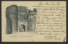 Porte Saint-Marcel - English: Die