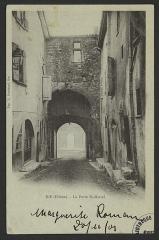 Porte Saint-Marcel - English: CA 1900 - 1901