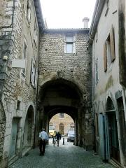 Porte Saint-Marcel -  Drome Die Porte Saint-Marcel 05072014
